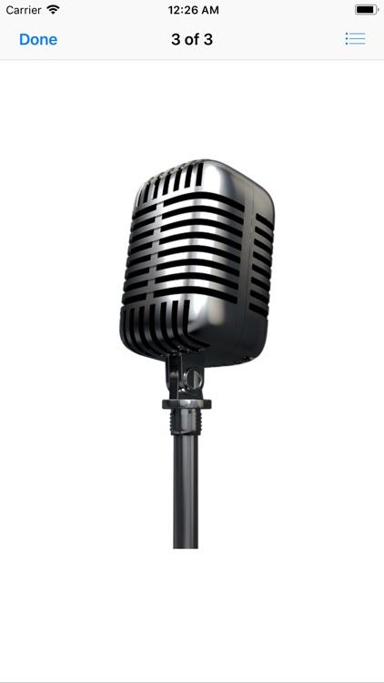 Microphone Stickers screenshot-3