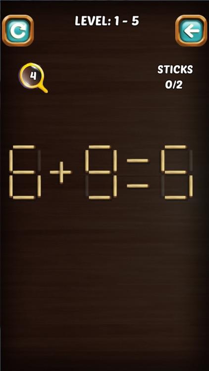 Math Stick Match Puzzle screenshot-5