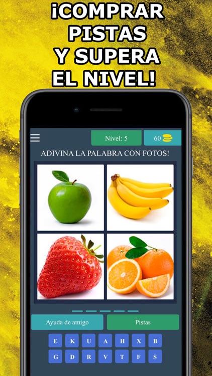4 Fotos 1 Palabra en Español screenshot-3
