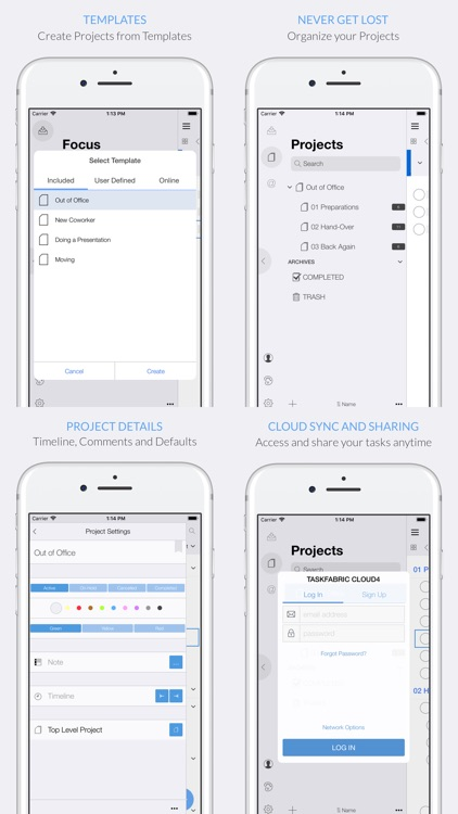 Organize:Me Cloud To-Do's screenshot-4