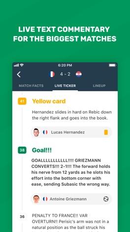 FotMob Live Soccer Scores screenshot for iPhone