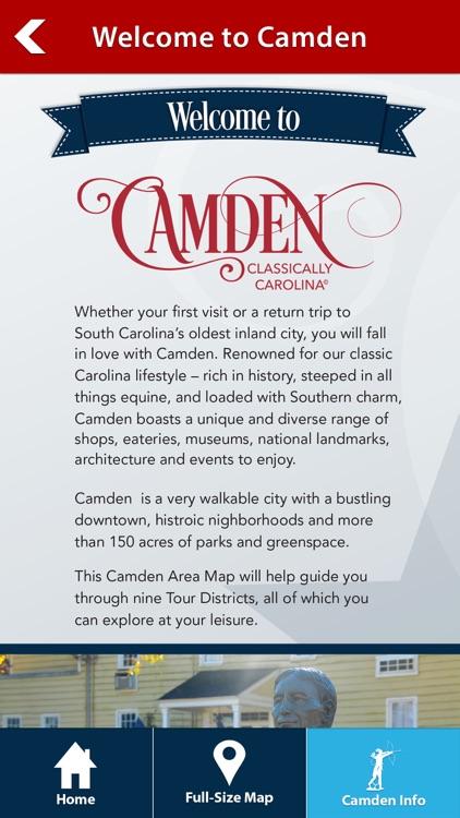 Camden, SC - Audio Tours