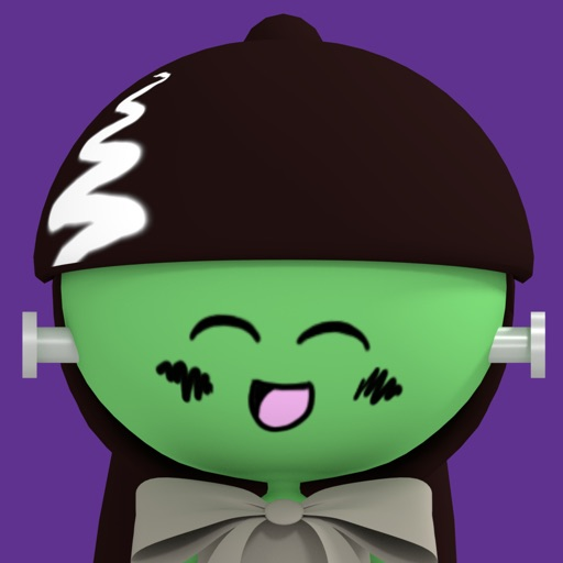 PLUM Halloween Stickers app logo