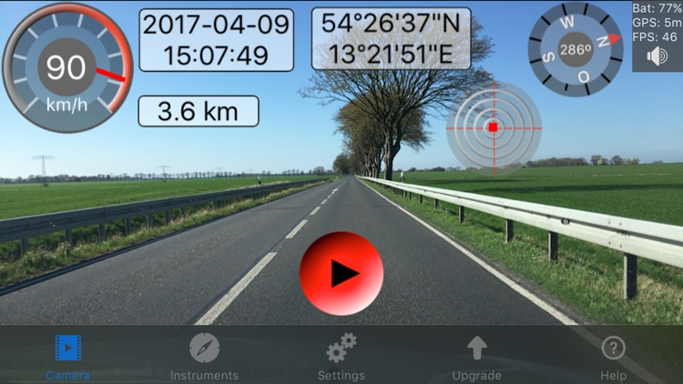 Action Camera Video Overlay