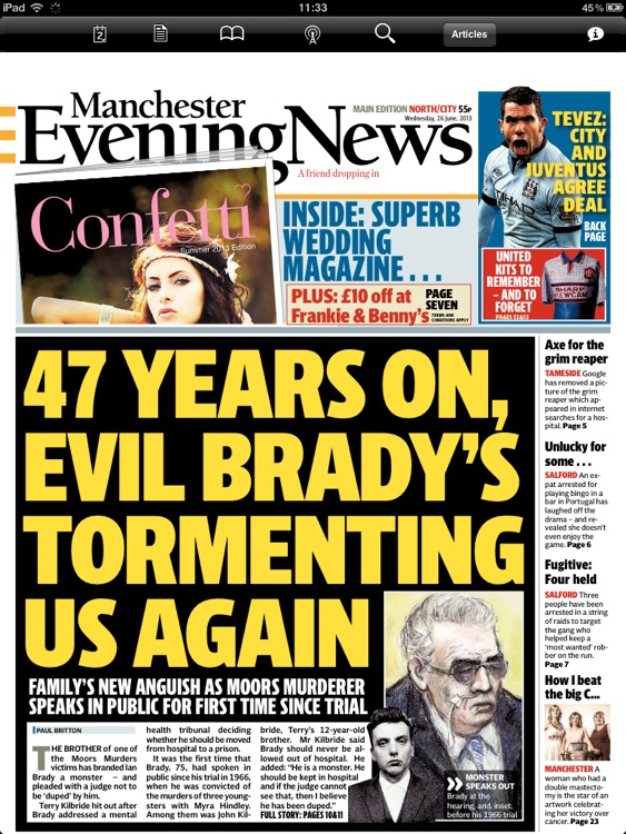 Manchester Evening News (iPad)