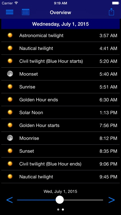 Sun Info screenshot-3