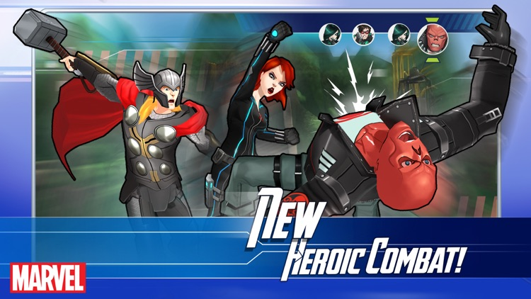 MARVEL Avengers Academy screenshot-1