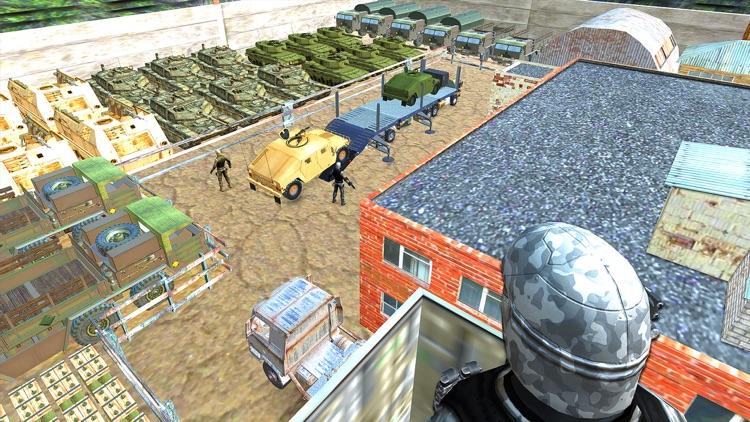 Us Offroad Army cargo truck screenshot-3
