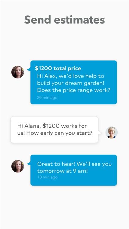 Thumbtack for Professionals screenshot-3