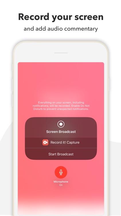 Record it! :: Screen Recorder screenshot-3