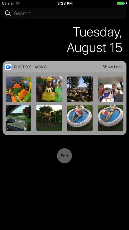 Widget for Messenger - Photo Sharing