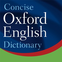 Image result for concise oxford dictionary and thesaurus app
