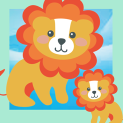Animal-s of the World in Africa Kid-s Learn-ing Game-s and little Story For Toddler-s