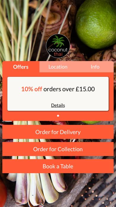 Coconut Thai screenshot one