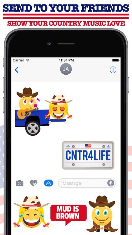 Country Music Emoji App