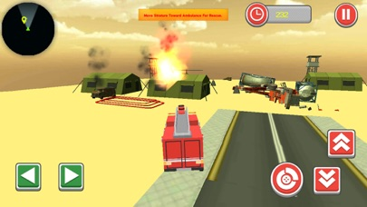 911 Blocky Ambulance Sim Game screenshot 4