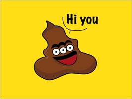 Receive 20 free Savage Poop stickers for iMessage