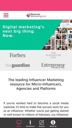 Influencer Marketing by Influencer Marketing Hub Screenshot