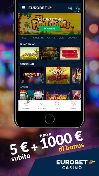 Screenshot of Eurobet Casinò – Slot Roulette1