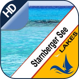 Lake Starnberg offline nautical chart for boaters