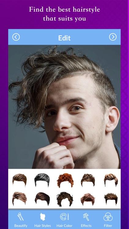Men Hair Style Photo Editor By Hemang Aghera