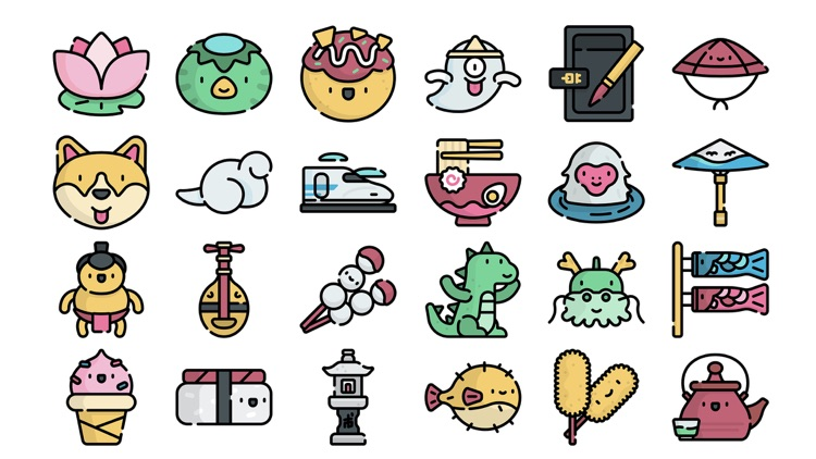 Japan Stickers..