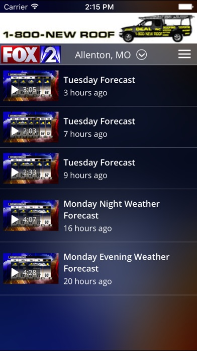 Fox 2 St Louis Weather review screenshots