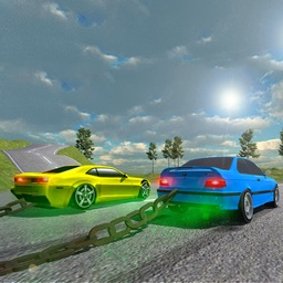 Chained Car Racing 3D Games
