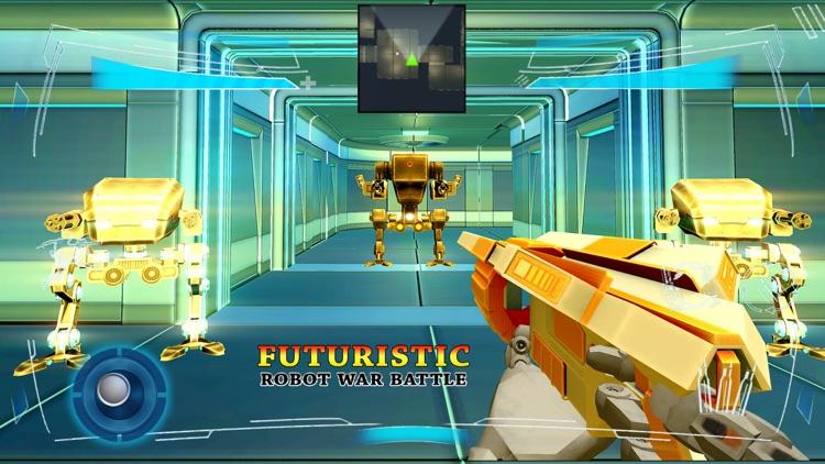 Futuristic Robot War Battle