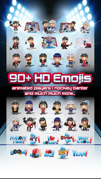 Hockey Emojis Nation