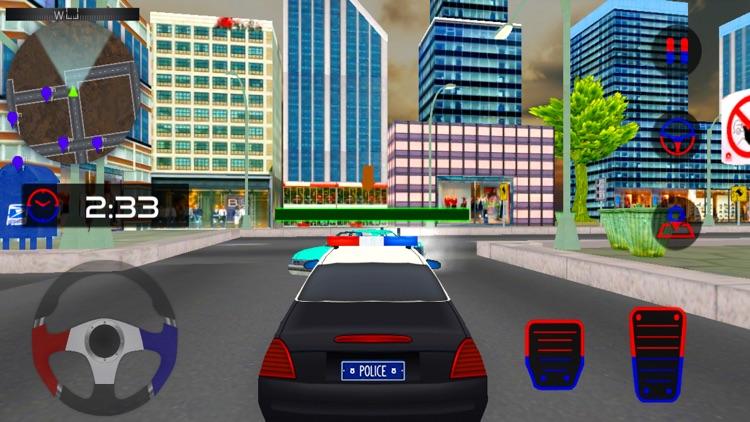 City Police Car Driving screenshot-3