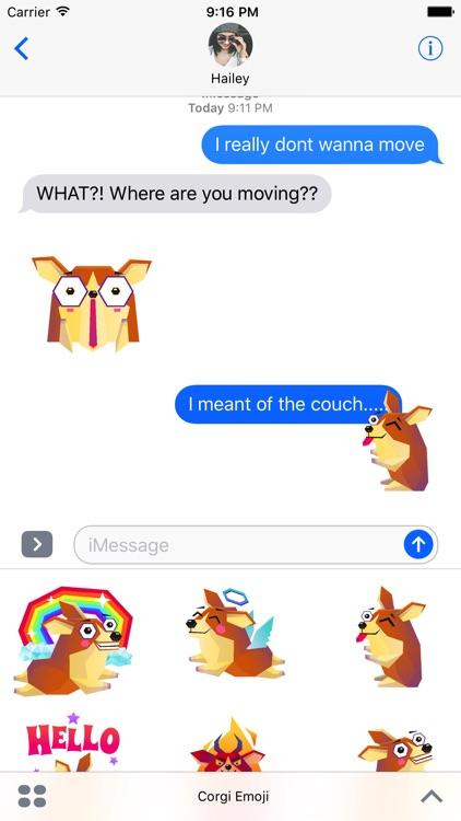 Corgi Emoji Stickers