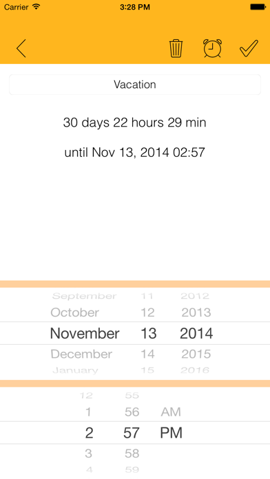 Days Until - Live CountdownScreenshot of 3
