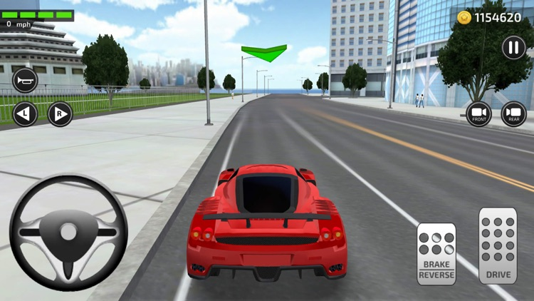 Driving Trump Car Simulator 3D screenshot-4