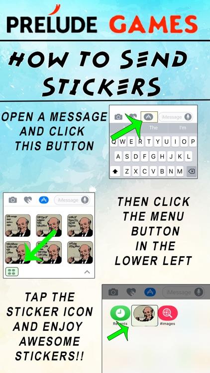 The Jolly Englishman Stickers screenshot-3