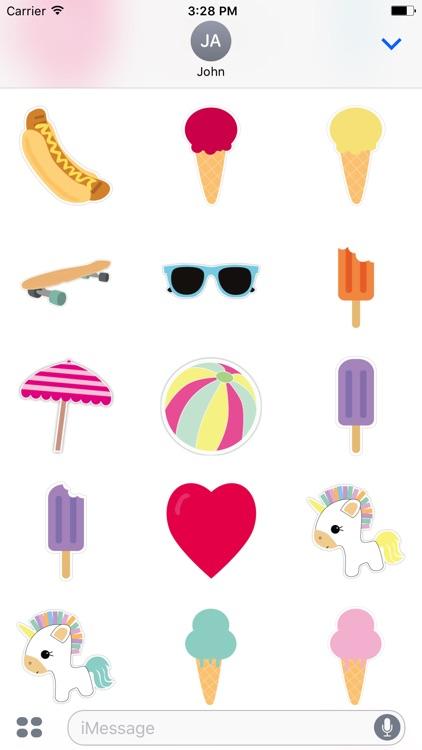 Enjoy Summer Stickers screenshot-3