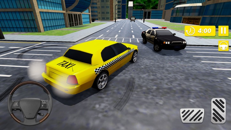 Real Taxi Cab Driver City