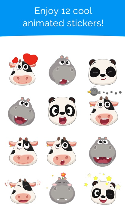 Dr. Panda Stickers
