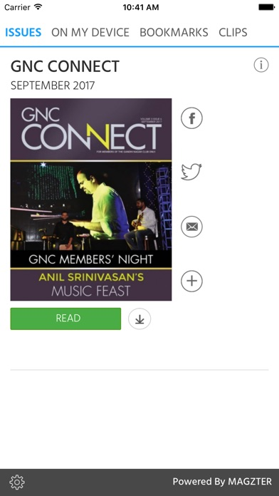 GNC CONNECT screenshot 1