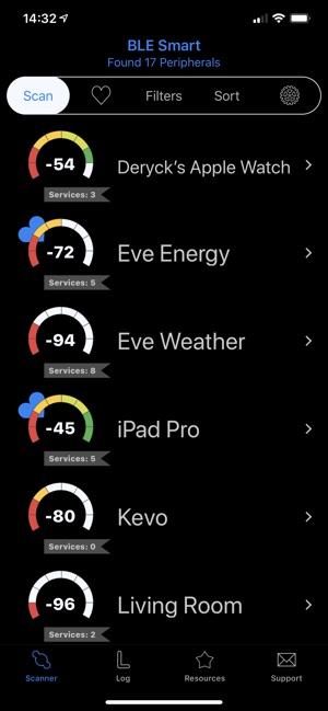 BLE Smart - Bluetooth Scanner Screenshot