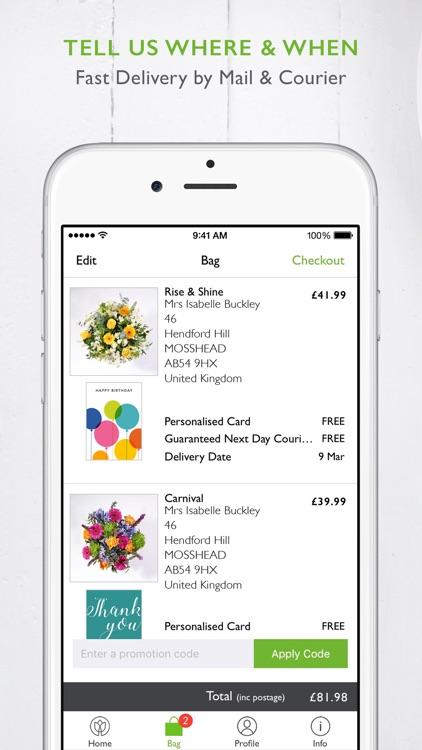 Postabloom Flower Delivery App screenshot-4