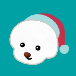 Christmas bichon Yallet