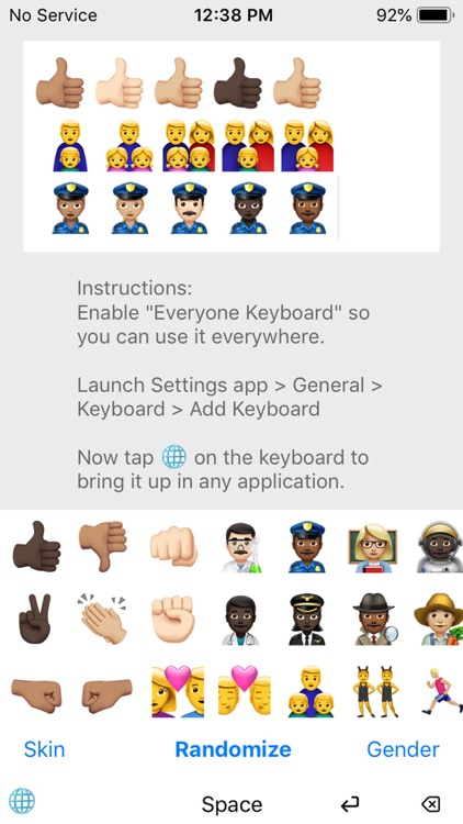 Everyone Emoji Keyboard