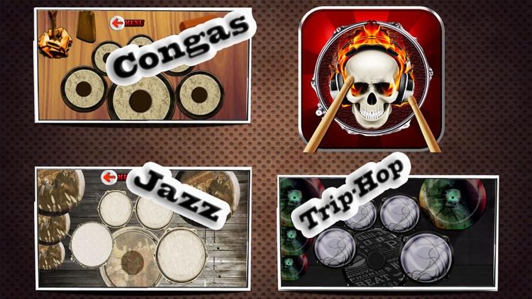 Drums (11 Drum Sets) screenshot-4