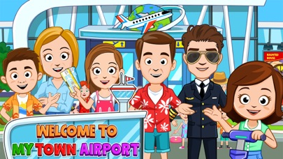 My Town : Airport app image