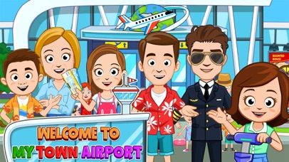 My Town : Airport screenshot 1