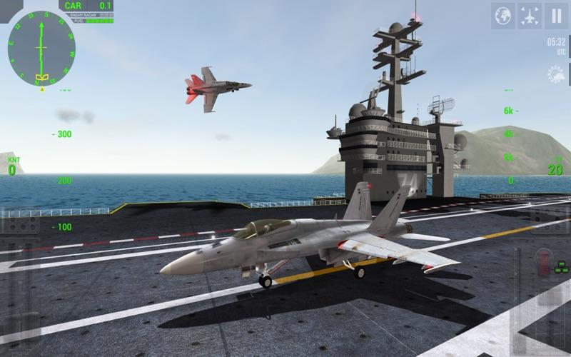 F18 Carrier Landing Lite screenshot 1