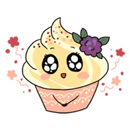 Sweet and Cute Food Sticker
