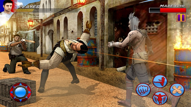 Police Street Fighting screenshot-3