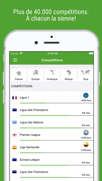 download BeSoccer Pro apps 4
